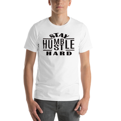 Vibe Luck Stay Humble Hustle Hard Entrepreneur Short-Sleeve Unisex T-Shirt