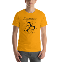 Load image into Gallery viewer, Vibe Luck Sagittarius Archer Zodiac Sign Birthday Short-Sleeve Unisex T-Shirt