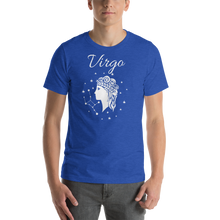 Load image into Gallery viewer, Vibe Luck Virgo Virgin Zodiac Sign Birthday Short-Sleeve Unisex T-Shirt