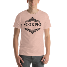 Load image into Gallery viewer, Vibe Luck Royal Scorpio Zodiac Sign Birthday Short-Sleeve Unisex T-Shirt