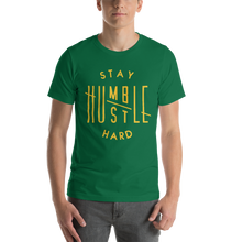 Load image into Gallery viewer, Vibe Luck Stay Humble Hustle Hard Short-Sleeve Unisex T-Shirt