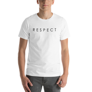 Vibe Luck Classic Respect Short-Sleeve Unisex T-Shirt