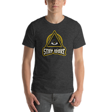 Load image into Gallery viewer, Vibe Luck Stay Woke Intellectual Eye Pyramid Short-Sleeve Unisex T-Shirt