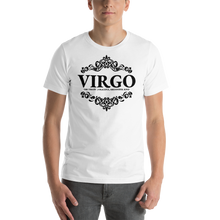 Load image into Gallery viewer, Vibe Luck Royal Virgo Zodiac Sign Birthday Short-Sleeve Unisex T-Shirt