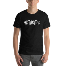 Load image into Gallery viewer, Vibe Luck Motivated Short-Sleeve Unisex T-Shirt