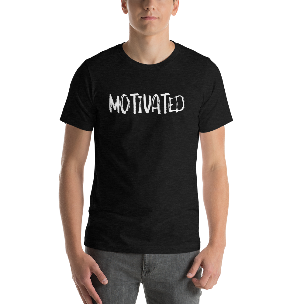 Vibe Luck Motivated Short-Sleeve Unisex T-Shirt