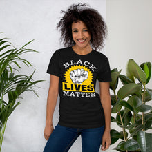 Load image into Gallery viewer, Vibe Luck Black Lives Matter Short-Sleeve Unisex T-Shirt