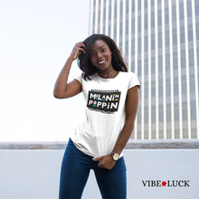 Load image into Gallery viewer, Vibe Luck Melanin Poppin Short-Sleeve Unisex T-Shirt