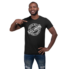 Load image into Gallery viewer, Vibe Luck Facts My Melanin Stay Poppin Short-Sleeve Unisex T-Shirt