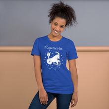 Load image into Gallery viewer, Vibe Luck Capricorn Goat Zodiac Sign Birthday Short-Sleeve Unisex T-Shirt