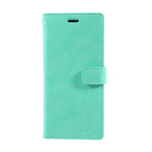Goospery Mansoor Aqua Wallet Diary Case for Samsung Galaxy Note 10 Plus/10 Plus 5G