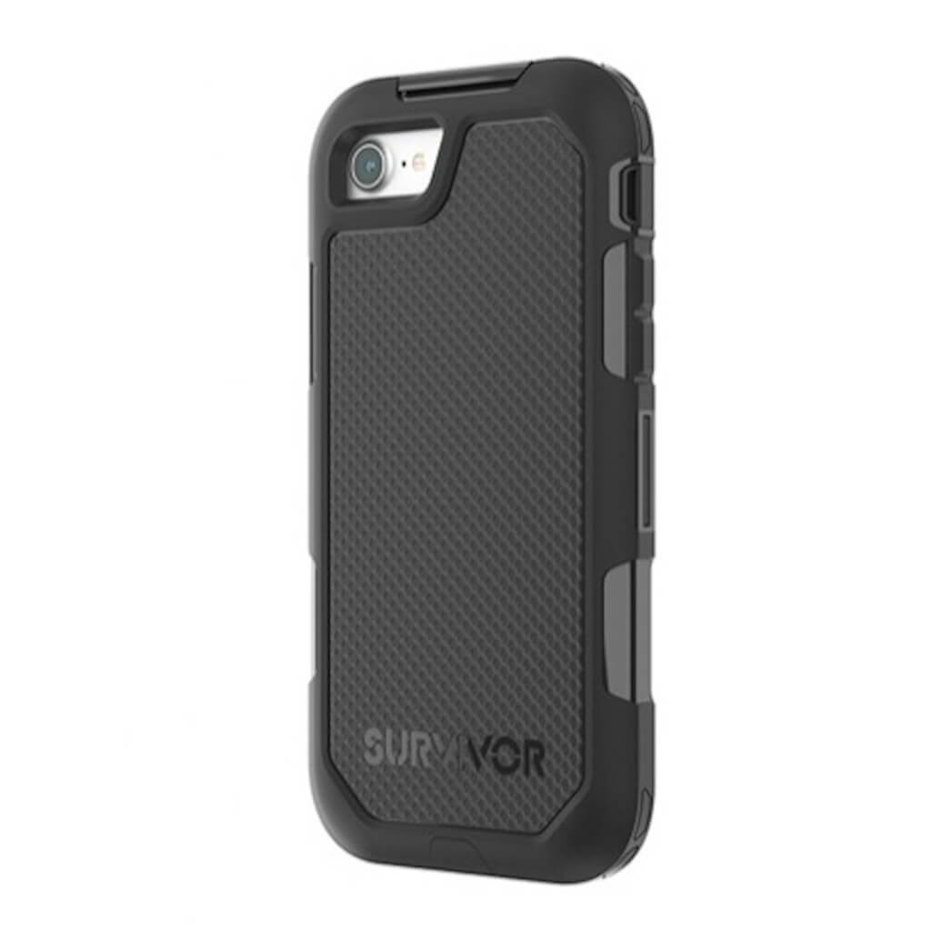 Griffin Survivor Extreme Black Rugged Case For iPhone 8/7