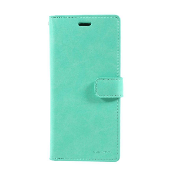 Goospery Mansoor Aqua Wallet Diary Case for Samsung Galaxy S20 Plus