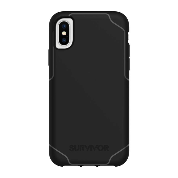 Griffin Survivor Strong Black Case for iPhone Xs Max