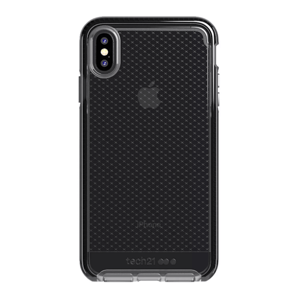 Tech21 Evo Check Smokey Black For iPhone Xs Max