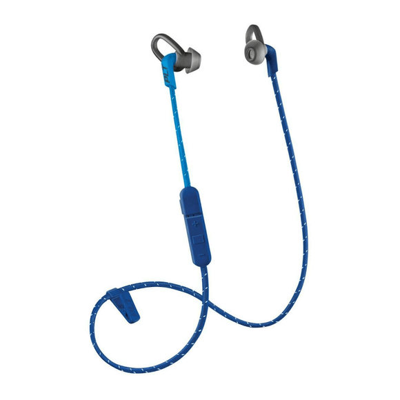 Plantronics BackBeat Fit 305 Blue Wireless Sport In-Ear Headphones