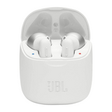 JBL Tune 220TWS Pure Bass Zero Cables White Earbud Headphones