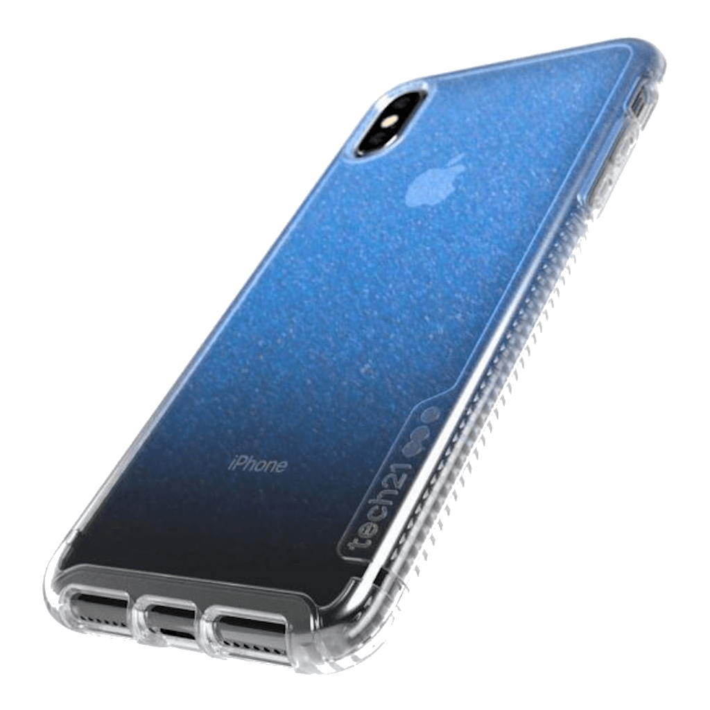 Tech21 Pure Shimmer Blue For iPhone X/Xs