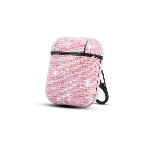 Airpods Protection Case Glitter Pink