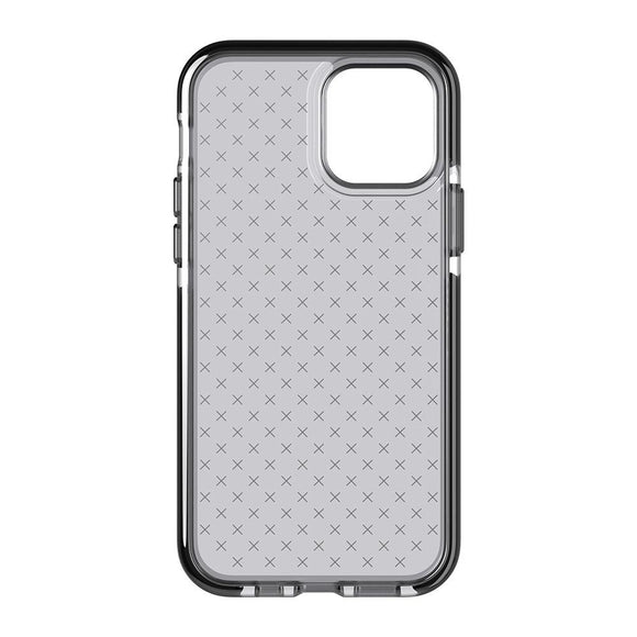 Tech21 Evo Check Smokey Black for iPhone 12 / 12 Pro