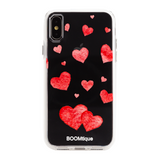 Boomtique Red Hearts for iPhone X/Xs
