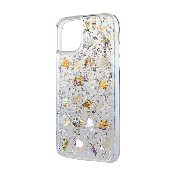Boomtique Mother of Pearl Silver for Iphone 12 Mini