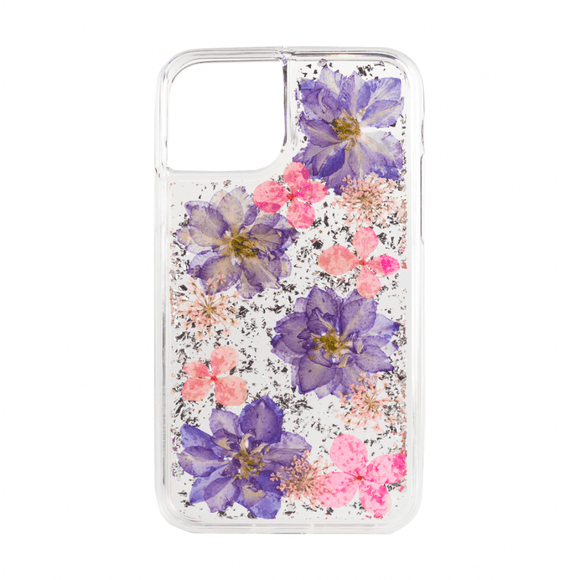 Boomtique Karat Petals Purple for Iphone 12 Mini