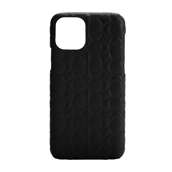 Coach Signature C Emboss Black for iPhone 12 Mini