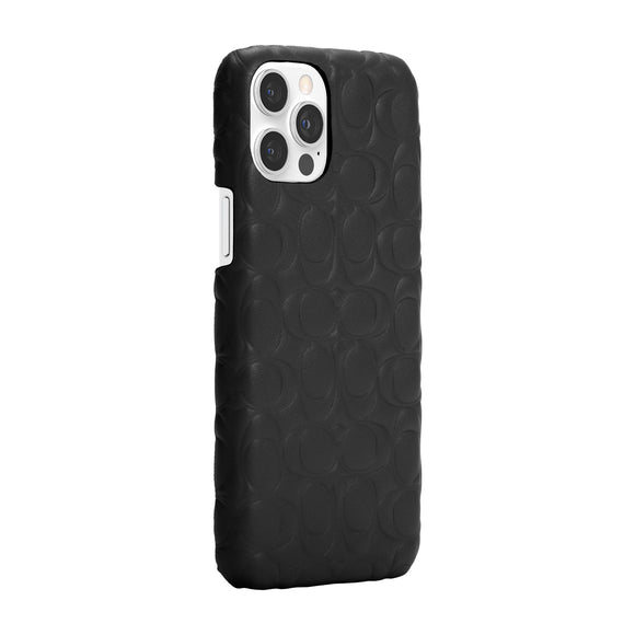 Coach Signature  C Emboss Black for iPhone 12 Pro Max