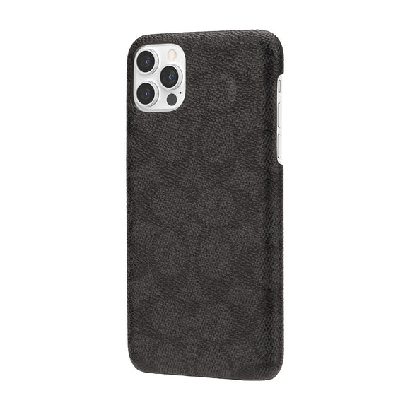 Coach Signature C Black Wrap for iPhone 12 Pro Max