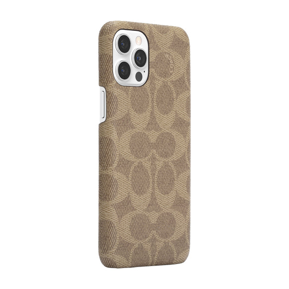 Coach Signature C Khaki for iPhone 12 Pro Max