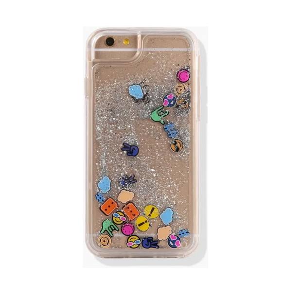 Case-Mate Naked Tough Rebecca Minkoff Waterfall Emoji For iPhone 6/6s/7/8