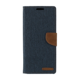 Goospery Blue Canvas Diary Case for Samsung Galaxy S20 Ultra