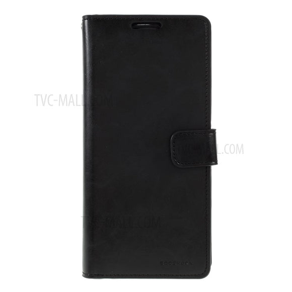 Goospery Mansoor Black Wallet Diary Case for Samsung Galaxy S20 Plus