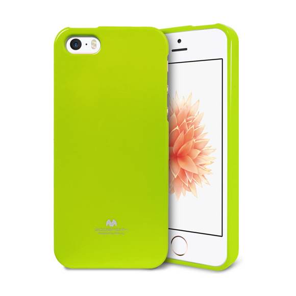 Goospery Mercury Green Jelly Case for iPhone 5/5S/SE (2016)