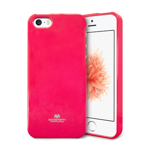 Goospery Mercury Pink Jelly Case for iPhone 5/5S/SE (2016)