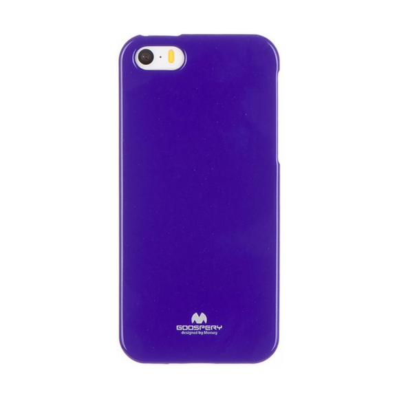 Goospery Mercury Purple Jelly Case For iPhone 5/5S/SE (2016)