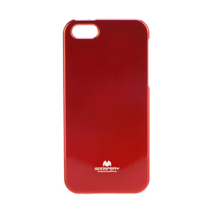 Goospery Mercury Candy Red Jelly Case for iPhone 5/5S/SE (2016)