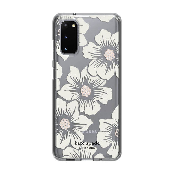 Kate Spade New York Hollyhock Floral Cream Case for Samsung Galaxy S20