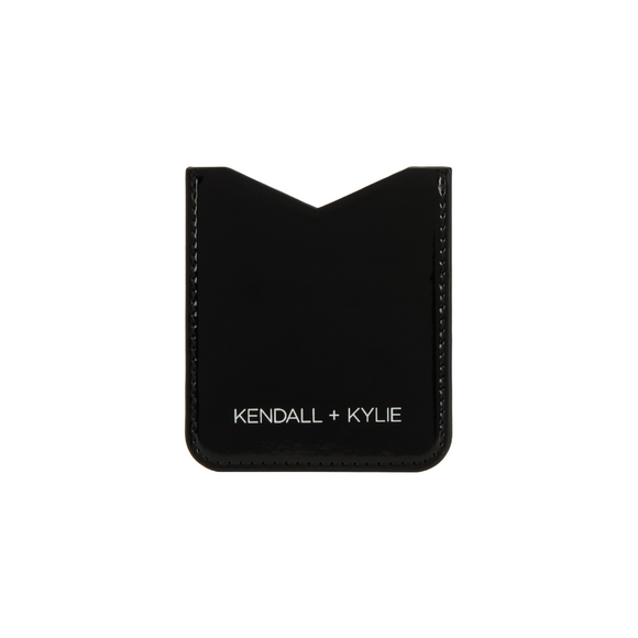 Kendall + Kylie Sticker Pocket Universal - Black Patent