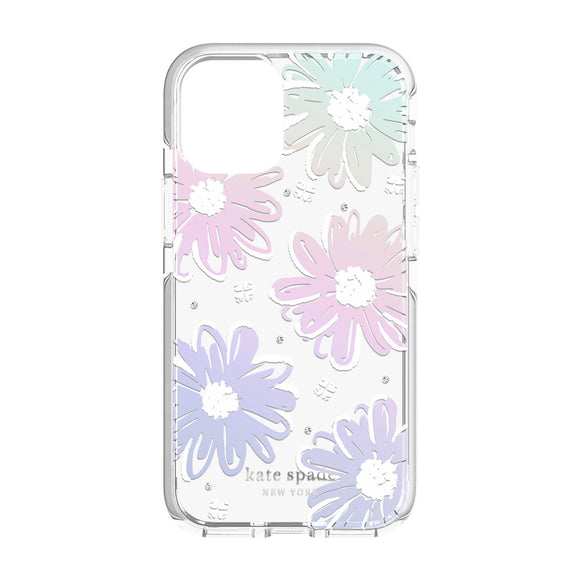 Kate Spade Daisy Iridescent Hardshell for Iphone 12 Mini
