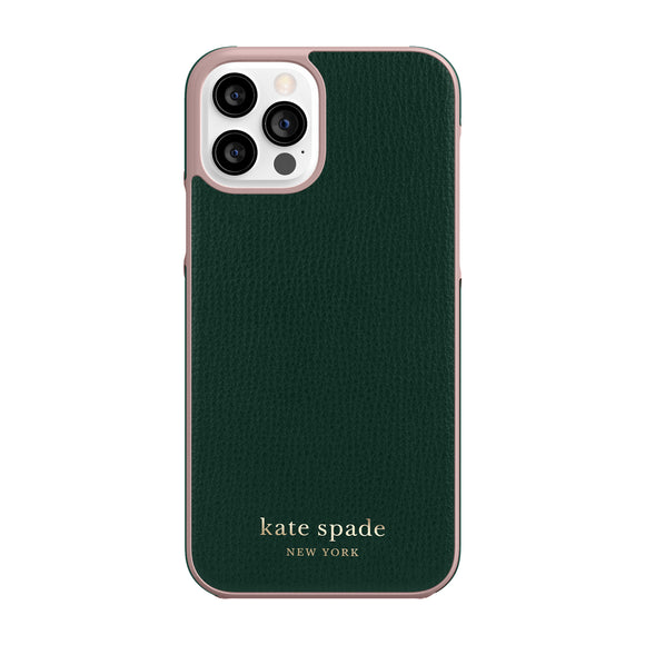 Kate Spade Deep Evergreen for iPhone 12 / 12 Pro