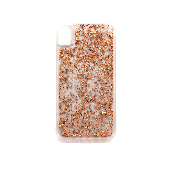 Boomtique Karat Rose Gold Leaf for Iphone 12 Mini