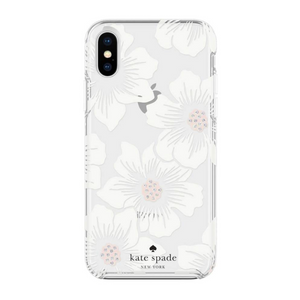 Kate Spade New York Hollyhock Floral Cream Case for iPhone X/Xs