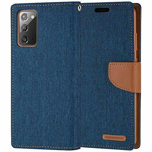 Goospery Canvas Diary Blue for Samsung Galaxy Note 20