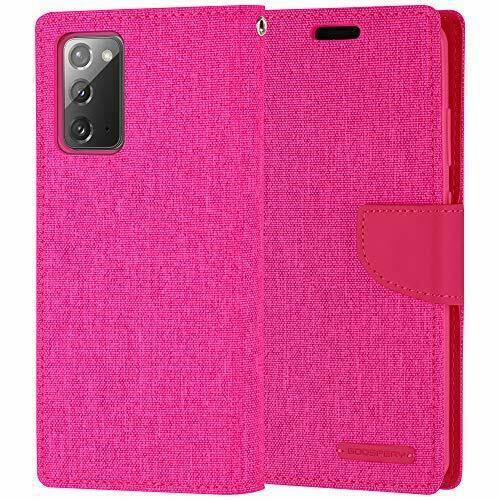 Goospery Canvas Diary Pink for Samsung Galaxy Note 20