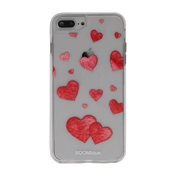 Boomtique Red Hearts for iPhone 6+/7+/8+