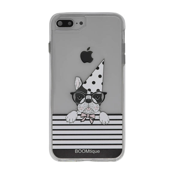 Boomtique Party Pug for iPhone 6+/7+/8+