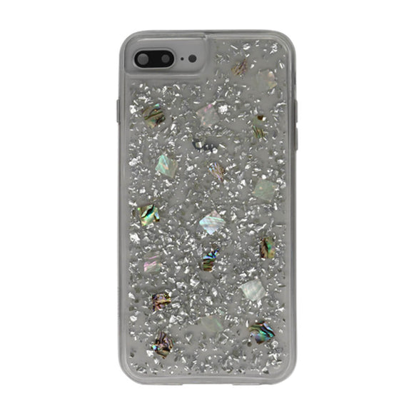 Boomtique Mother of Pearl Silver for iPhone 6/7/8/SE (2020)