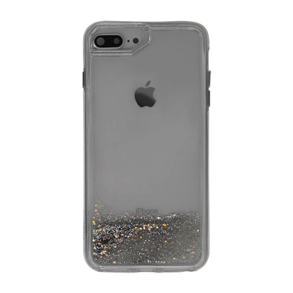 Boomtique Waterfall Silver for iPhone XR